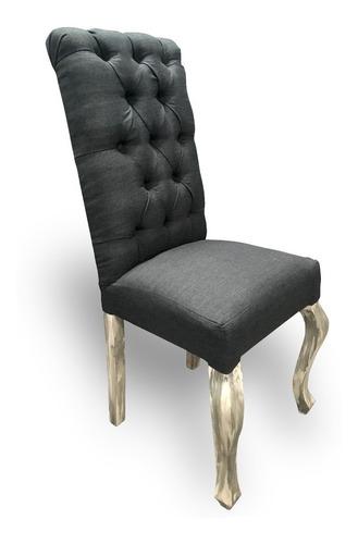 silla vintage de madera para comedor moderno minimalista