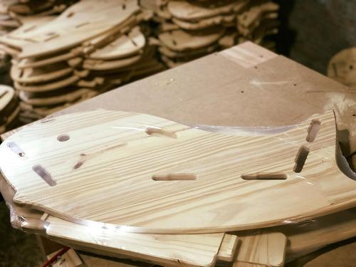 silla/ballena balancín de madera para niños
