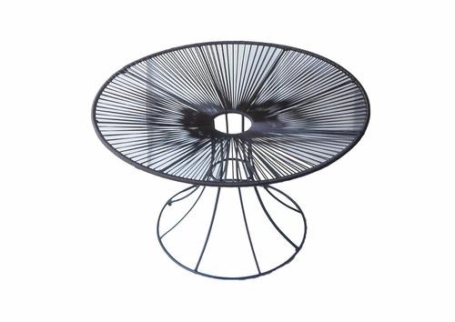 sillas acapulco vinilos flexibles mesa caracol tejida