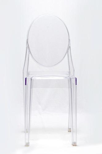 sillas acrilicas transparentes para comedor (4 ó + unidades)