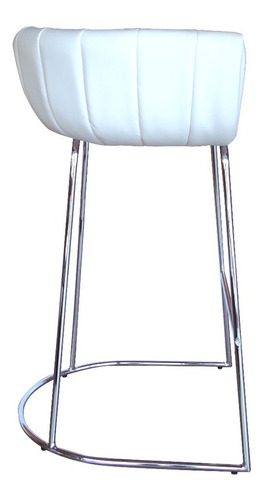 sillas alta de bar color blanco umberto capozzi
