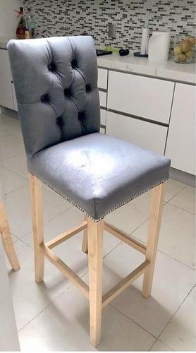 sillas altas elegantes para isla, cocina americana o bar