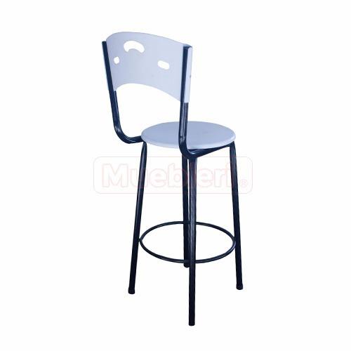 sillas altas para barra karen en polipropileno original mig