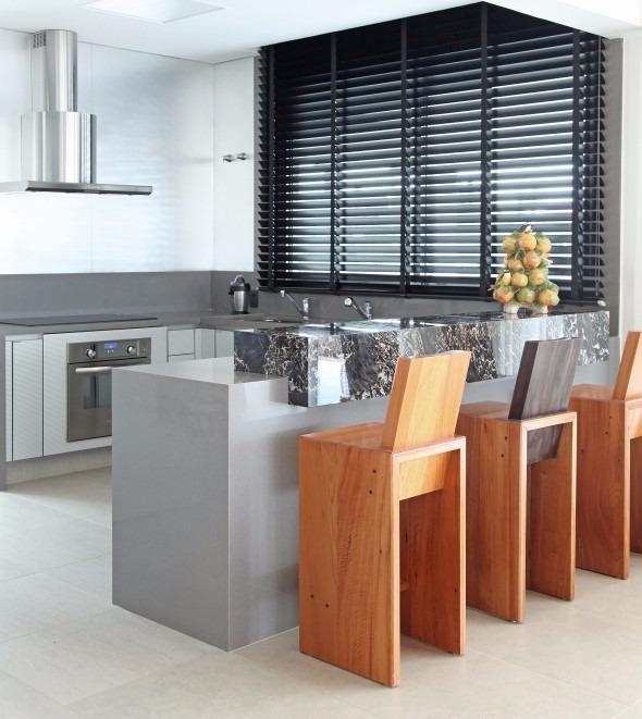 Sillas altas para isla de cocina o mes n tipo bar bs for Sillas tipo bar en madera