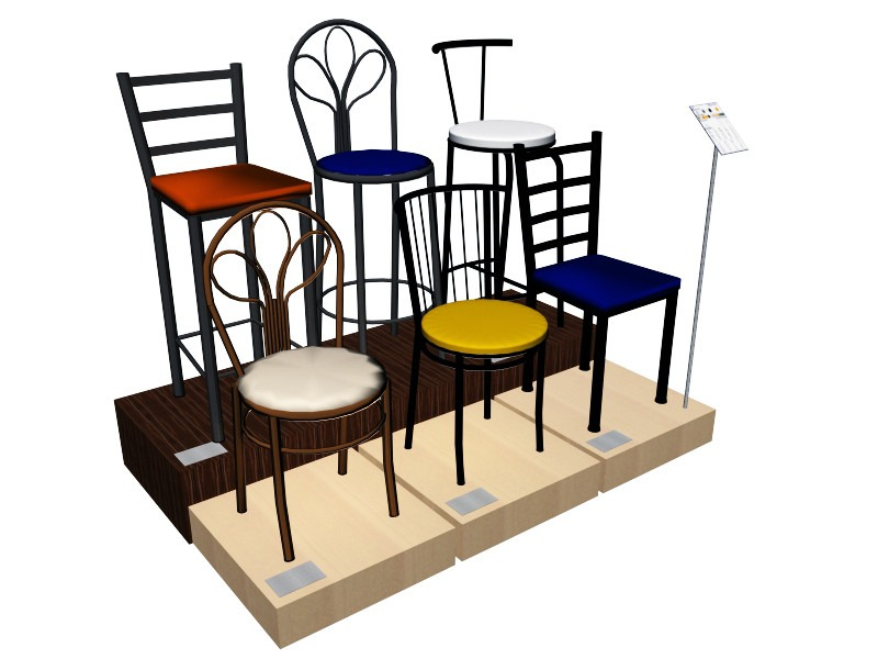 Sillas altas de cocina silla alta pure loop cocinabar - Sillas altas para cocina ...