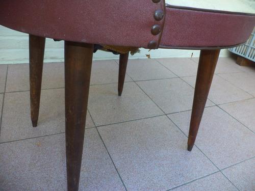 sillas americanas butacas tapizadas antiguas vintage
