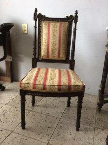 Sillas antiguas colonial espa ol 1 en mercado libre - Sillas estilo espanol ...