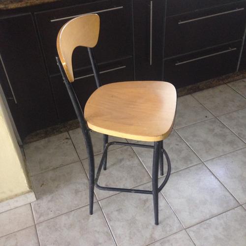 sillas bancos de madera de cocina