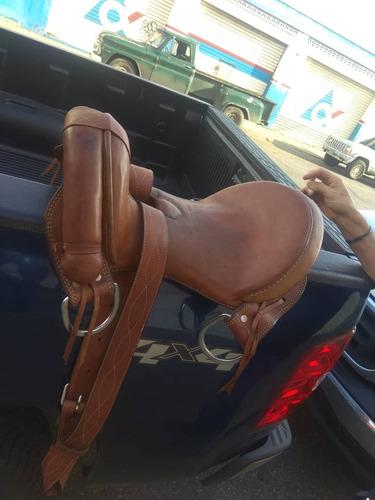 sillas caballo monturas americanas