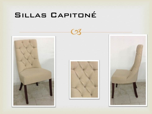 Sillas capitone 1 en mercado libre for Sillas capitone comedor