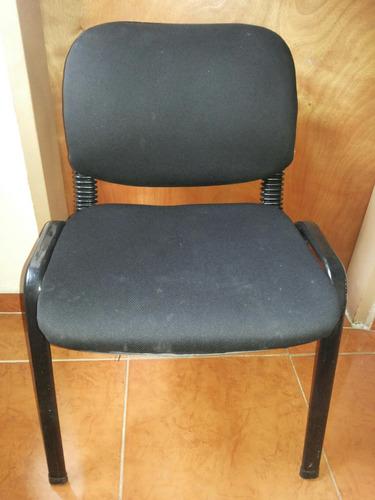 sillas color negro usadas