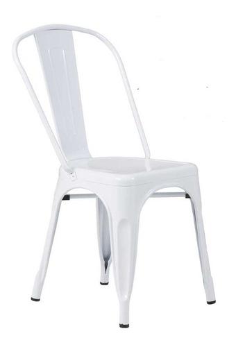 sillas de acero tipo tolix / palo piña