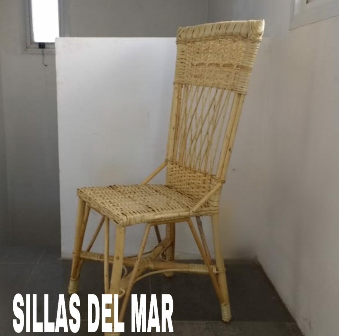 Sillas De Comedor,mimbre (sillas Del Mar) - $ 2.400,00 en Mercado Libre