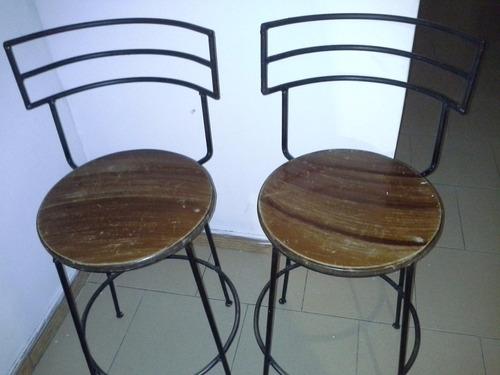 sillas de hierro