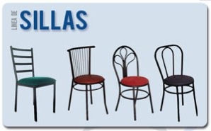 sillas de hierro restaurant comedores areperas negocios bar