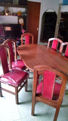 sillas de madera maciza tapizada con lustre en varios tonos