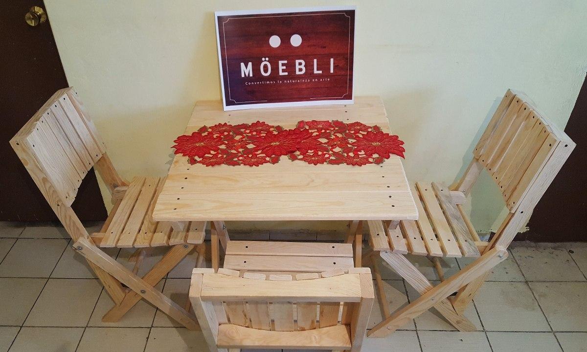 Sillas de madera mueble rustico bar restaurantes for Bar rustico de madera