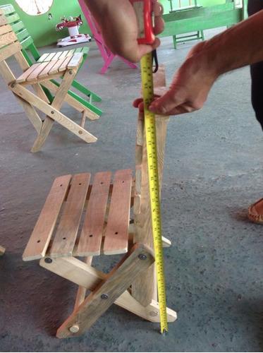 Sillas de madera para ni os en mercado libre for Sillas para 2 ninos diferente edad