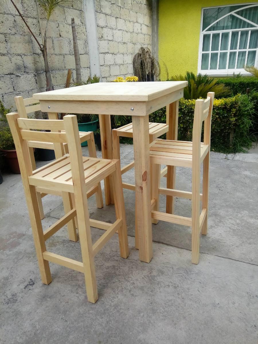 Sillas de madera para restaurante uso rudo muebles vanely for Sillas comodas y economicas