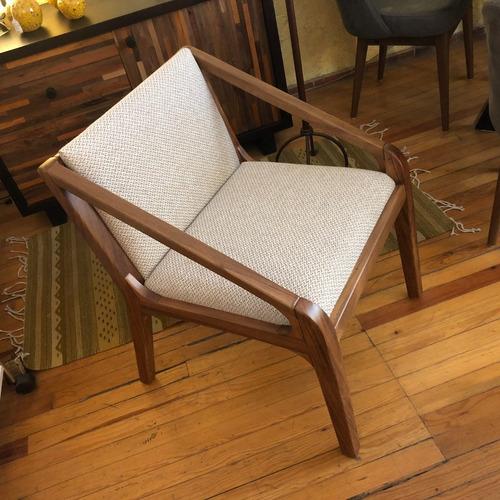 sillas de madera parota estilo moderno