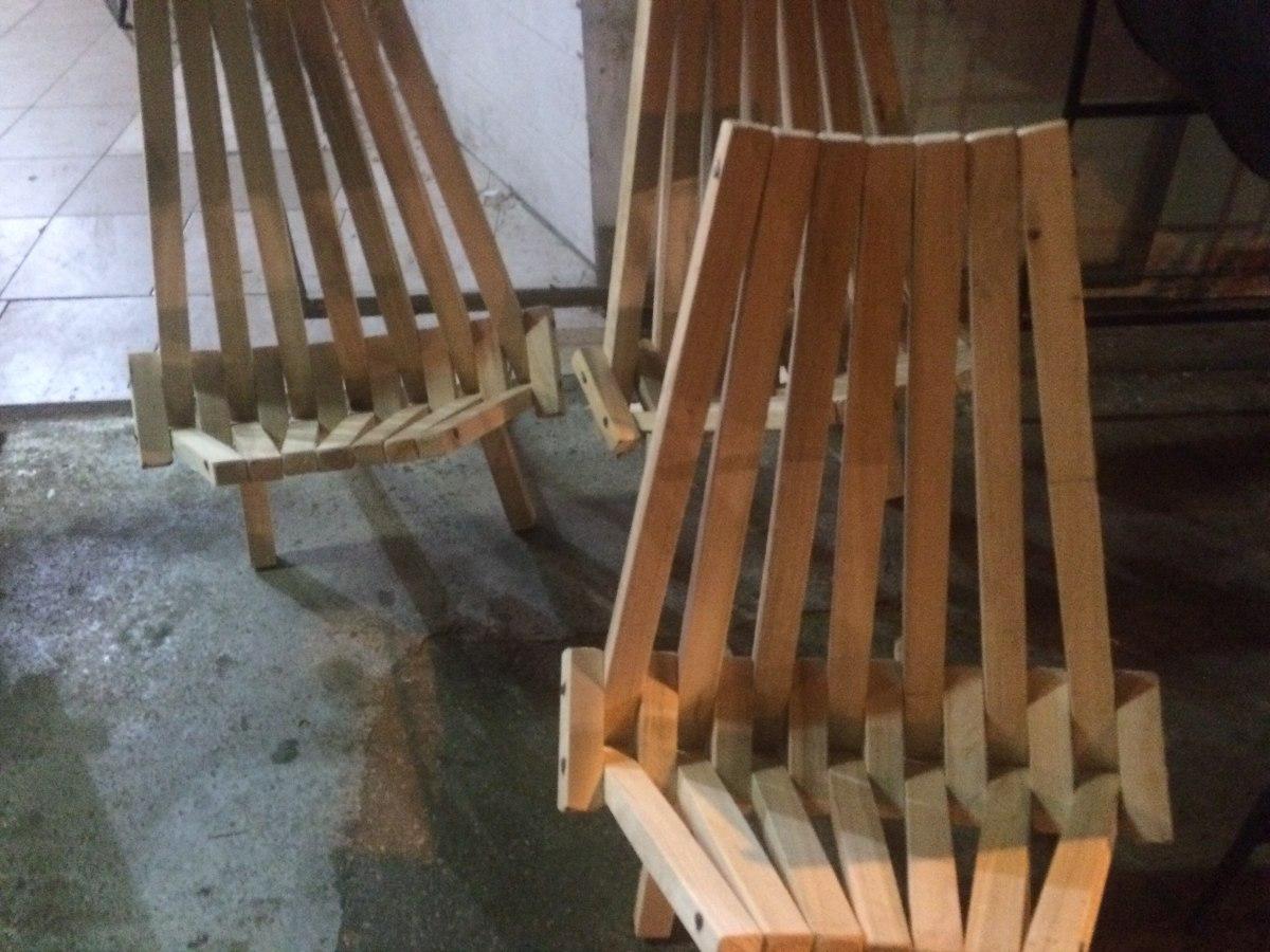 Sillas de madera plegable estilo bar mesa plegables for Bar de madera mercadolibre