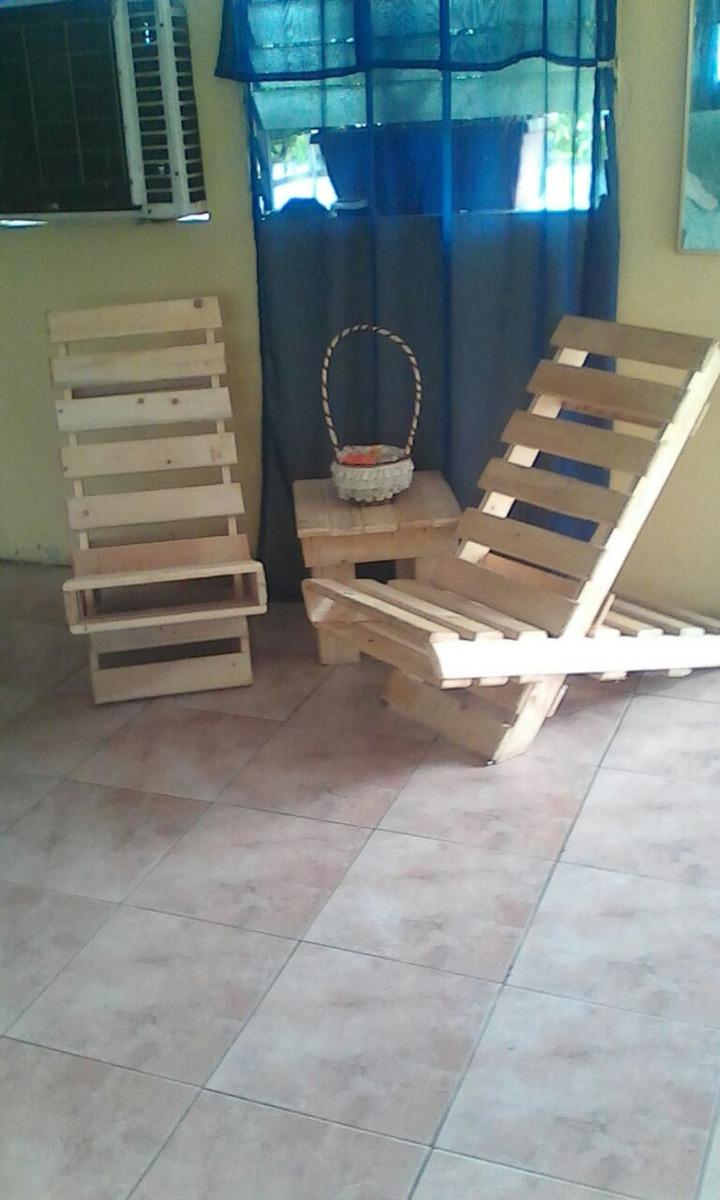 Sillas de palets madera bs en mercado libre - Sillas con palets ...