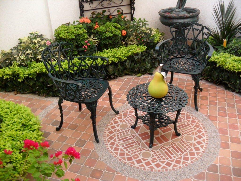 Sillas de patio jard n terraza balcon en for Sillas de terraza y jardin