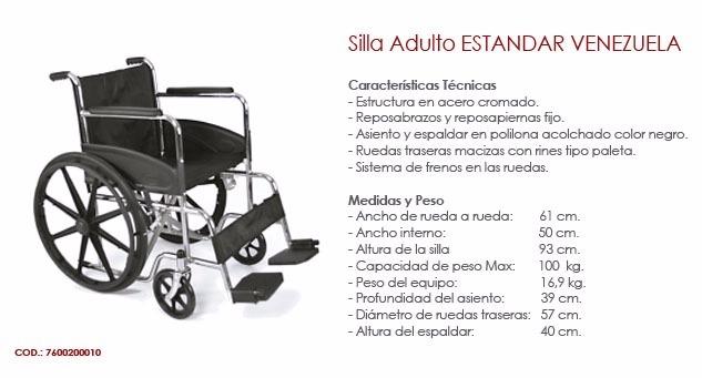 silla de ruedas venezuela