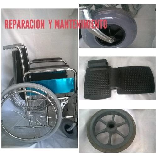 sillas de ruedas  reparacion -alquiler y venta -domicilio
