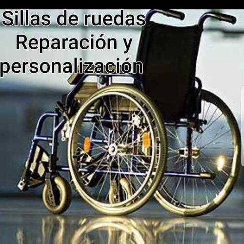 sillas de ruedas reparacion venta y alquiler