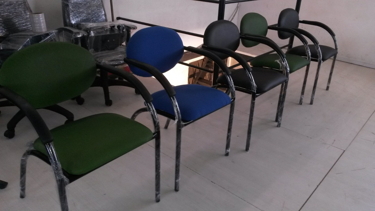 Sillas de visita graffiti economica muebles de oficina u for Sillas para oficina economicas