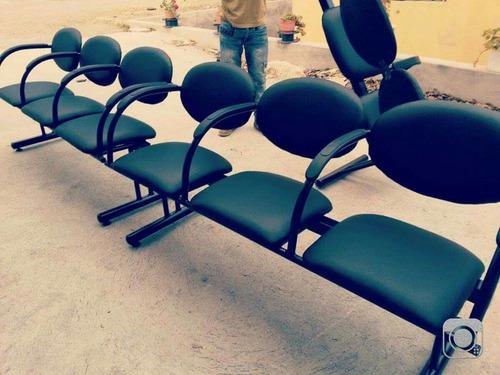 sillas de visita y espera tri personal grafiti