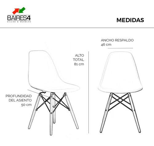 sillas eames dsw base diseño moderno sillas oferta baires4