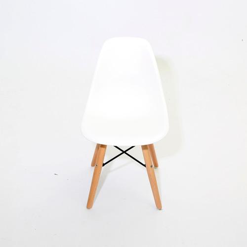 sillas eames hood silla minimalista moderna paquete de 4