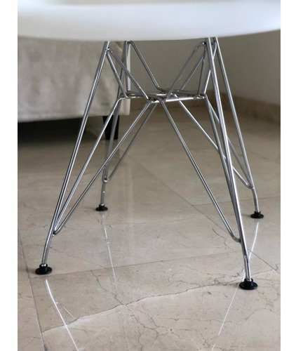 sillas eames pata metal eiffel comedor pack x6 - cuotas