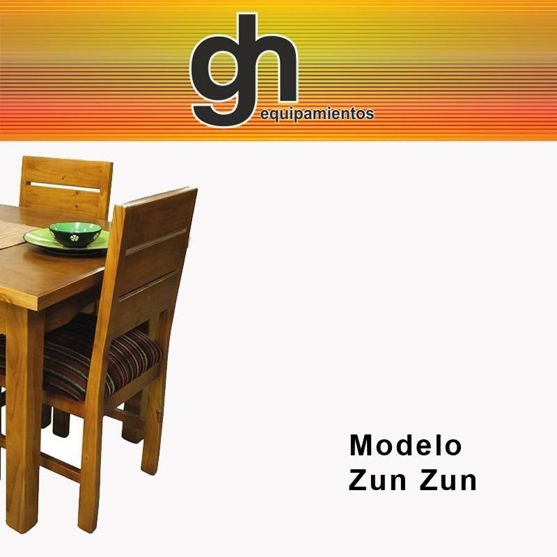 Sillas en madera tapizadas para cocina comedor sillones for Sillones para cocina