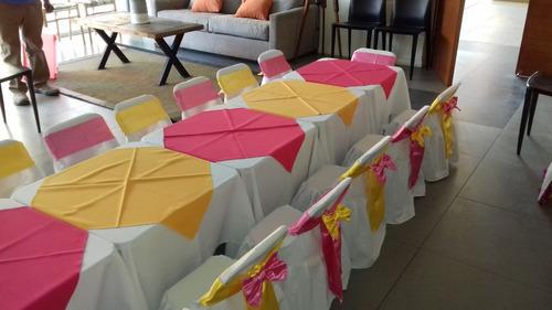 sillas fiestas mesas