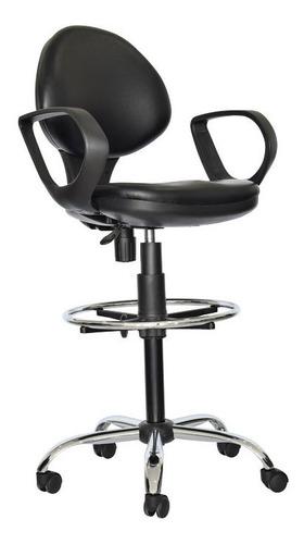 sillas fijas en mercado negro advertising