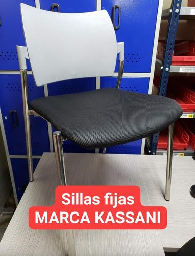 sillas fijas paño nuevo