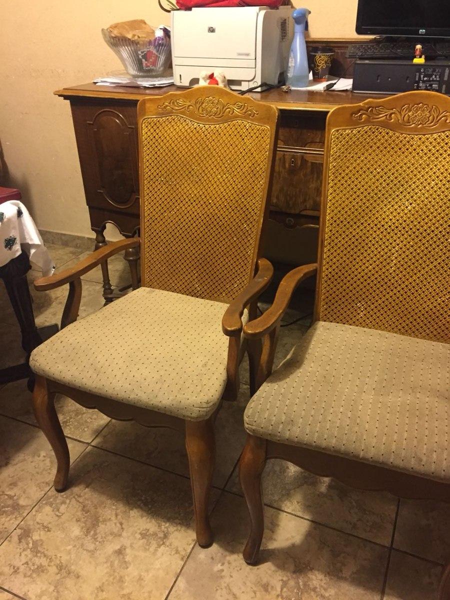 Sillas Francesas Antiguas Con Bejuco 1 500 00 En Mercado Libre # Muebles De Bejuco