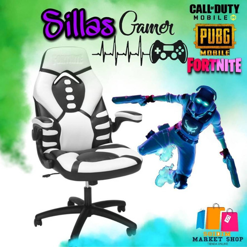sillas gamer fortnite skull trooper
