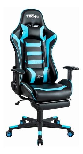 sillas gamer nuevas reclinable a 180° technisport - sgaz
