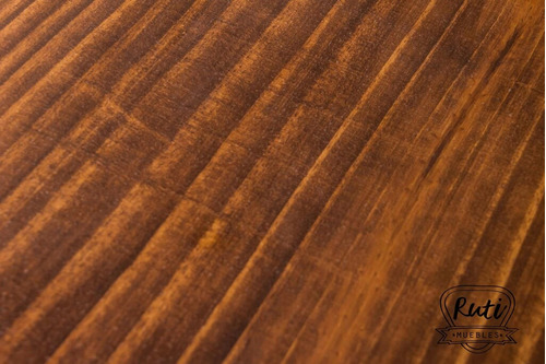 sillas hierro y madera pino diseño industrial bar resto