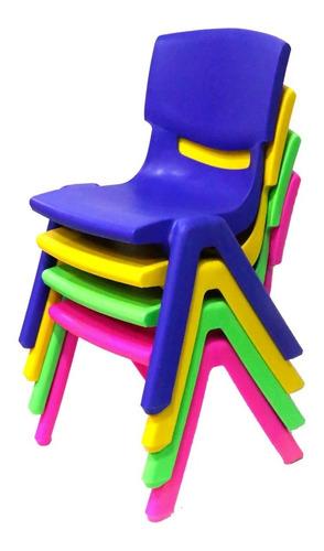 sillas infantiles de polipropileno/ moza importaciones