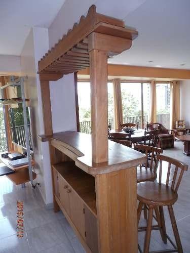 sillas madera altas giratorias cocina comedor