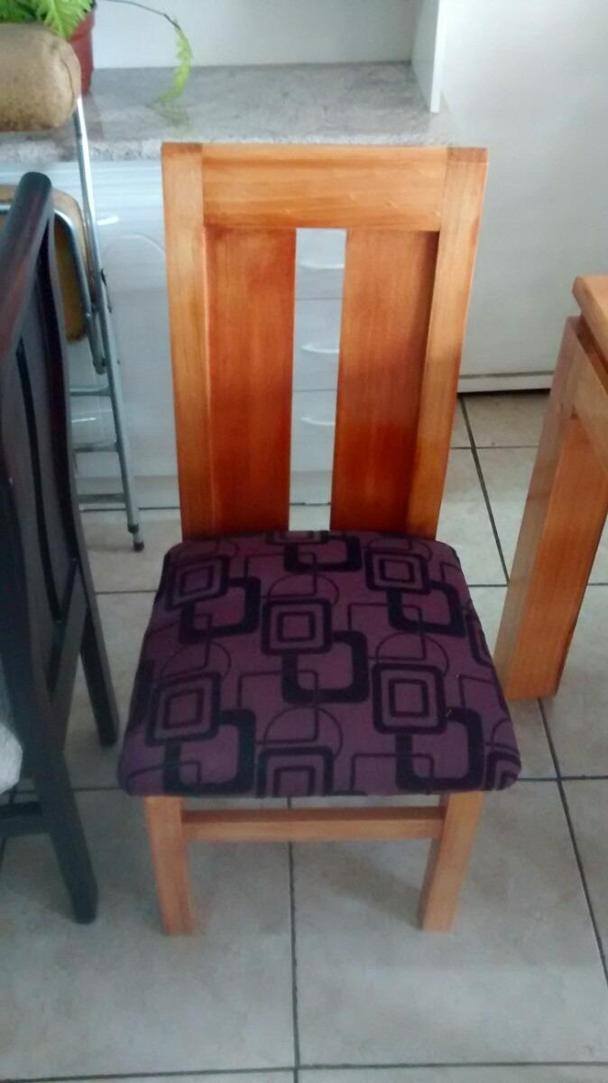 sillas madera comedor