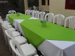 sillas manteleria alquiler mesas