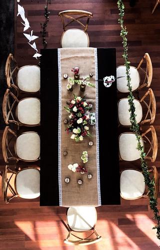 sillas mesas evento