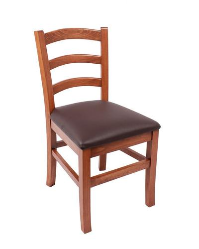 sillas mesas madera restaurante bar resistente - madera viva