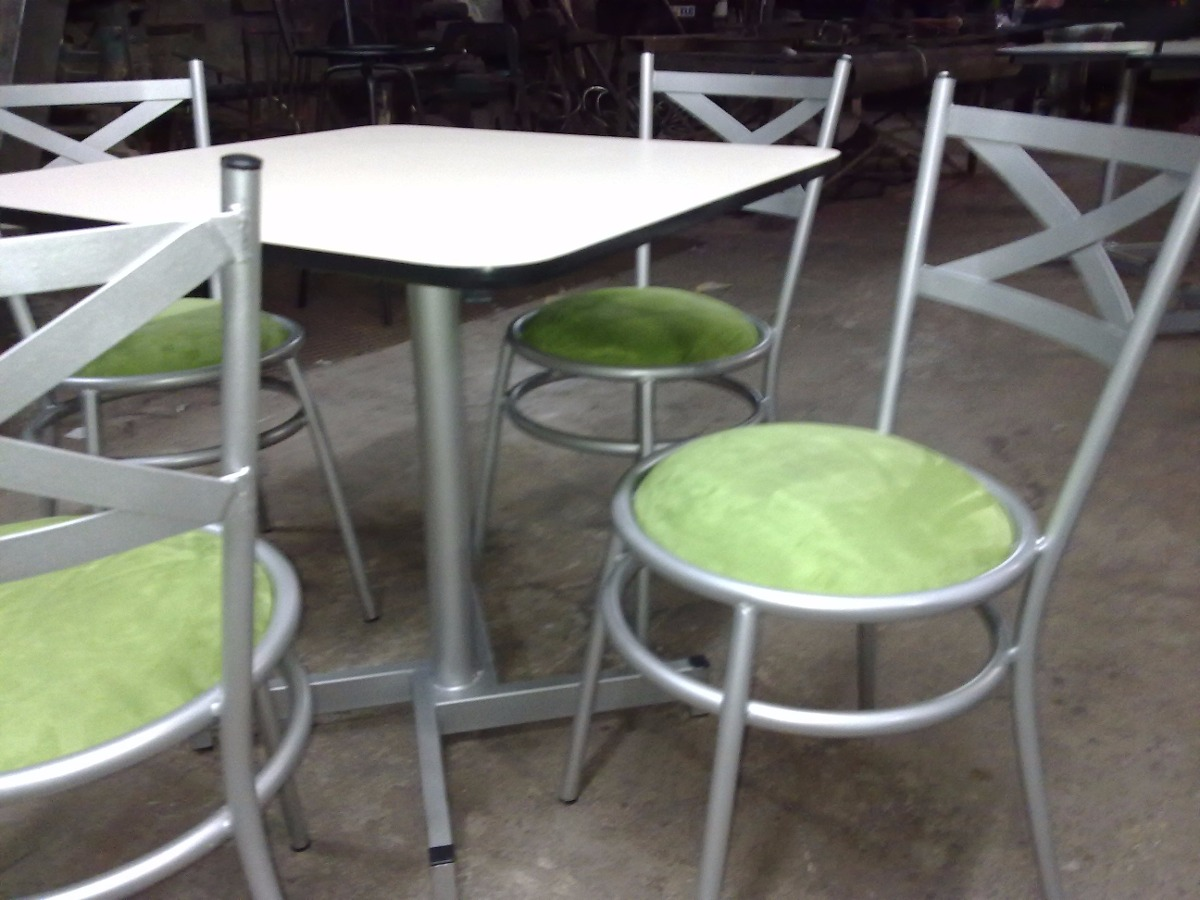 Sillas mesas para bar restaurant heladerias cafeterias - Sillas para cafeterias ...